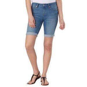 NWT Calvin Klein Jeans Ladies' Denim Bermuda Short